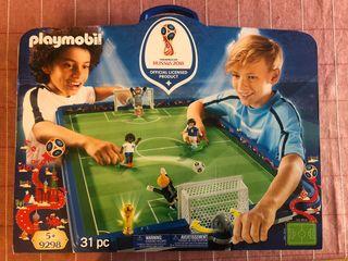Playmobil - Maletín Set de Fútbol - Futbolín