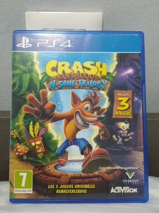 juego PS4 Crash Bandicoot trilogy