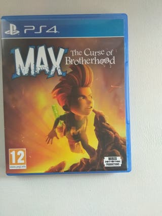 juego ps4 Max the curse of Brotherhood