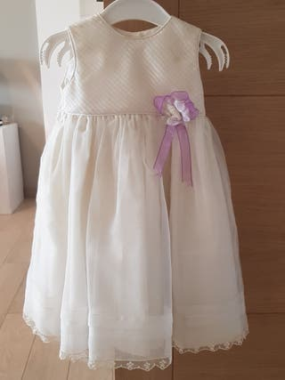 Vestido niña de arras de boda.