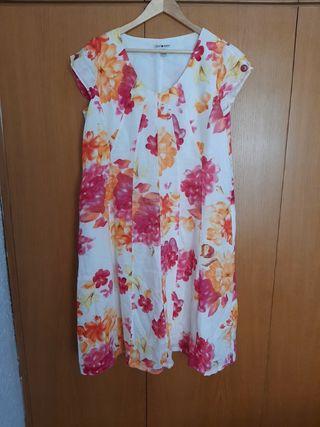 vestido de estampado de flores