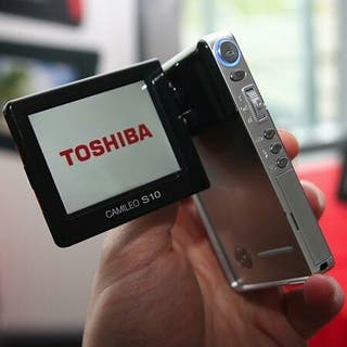cámara video/fotos full hd toshiba