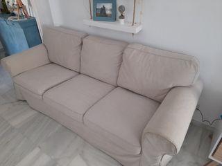 Sofá de Ikea modelo Ektorp, 3 plazas