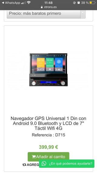 nagevador GPS universal