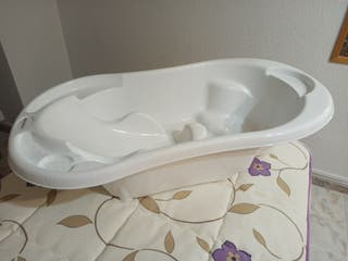 Bañera bebé blanca