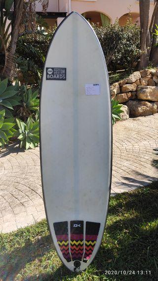Tabla de surf 5'11 epoxi custom
