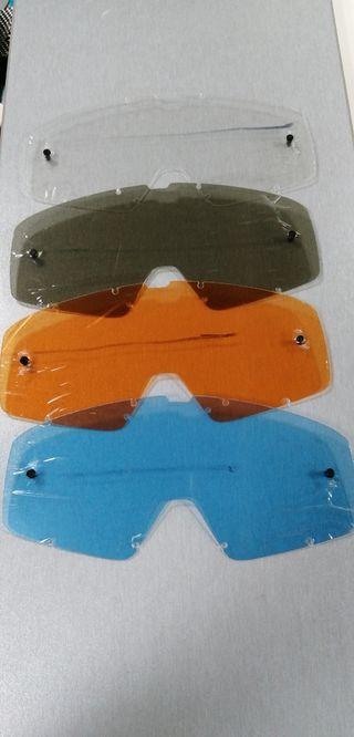 Fox pantalla gafas motocross