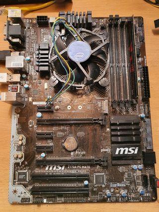 Placa Base Msi Z170A PC Mate Socket 1151 DDR4