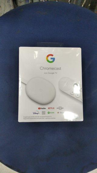 Google Chromecast con Golgle TV nuevo precintado