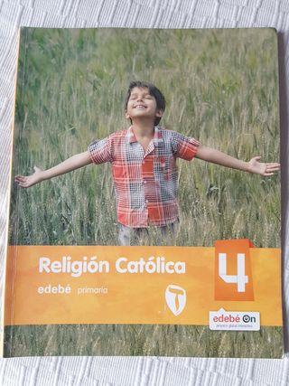 Libro religión Edebé 4°primaria