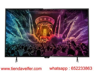 "Smart tv LED de 49"" 4K"