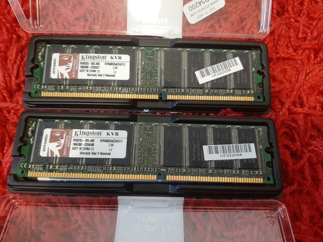 Memoria RAM 1gb Kingston DDR