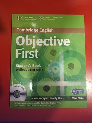 OBJETIVE FIRST STUDENT BOOK