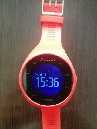 Reloj Polar M200 con GPS y pulsometro