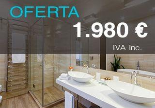 Reformar baño por 1980€