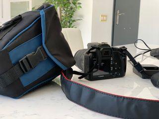 Canon 1000D+objetivo canon 18/55