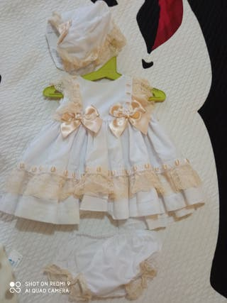 vestido bebé celebración
