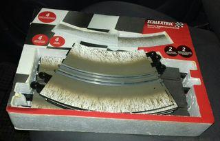 curva superdeslizante de scalextric