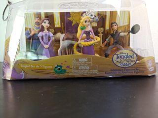 figuras Disney Enredados Rapunzel nuevo precintado