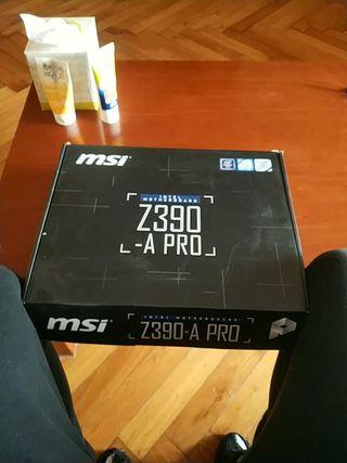 placa base msi-z390-a pro
