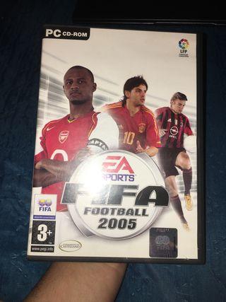 FIFA football 2005 para pc