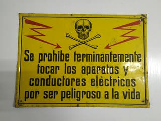 Cartel electrico