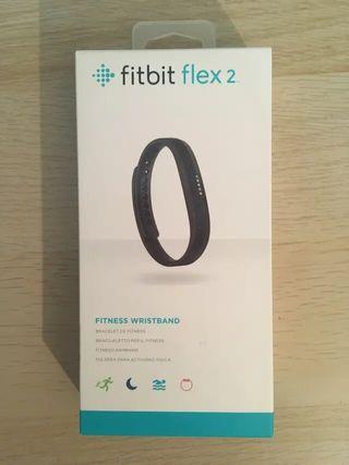 Pulsera Fitbit Flex 2 negra como nueva