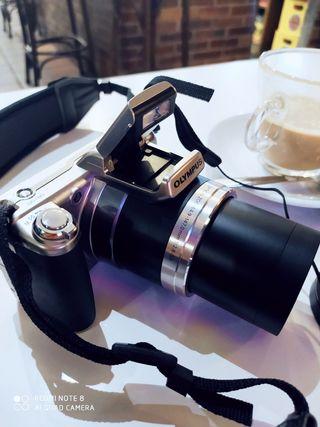cámara digital semireflex potente superzoon impeca
