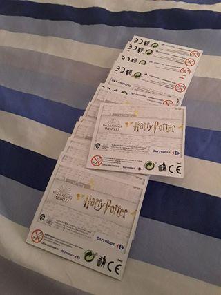 20 sobres cromos Harry Potter carrefour