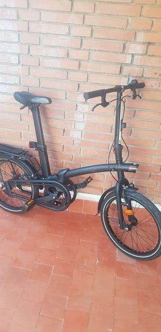 bicicleta plegable btwin tilt 7