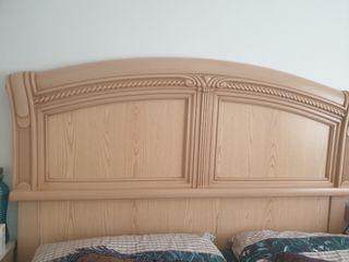 cabecera de cama de 135cm