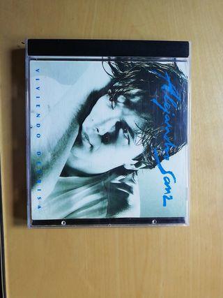 Se vende CD de Alejandro Sanz. Viviendo deprisa