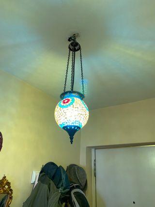 Lámpara marroquí.