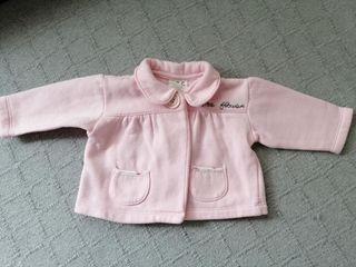 chaqueta bebé Rosa talla 6 meses
