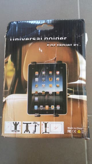 Soporte universal de tablet para cabezal de coche.
