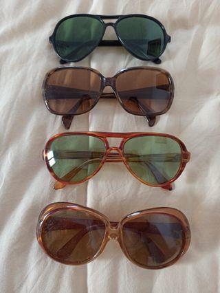 Lote gafas de sol vintage