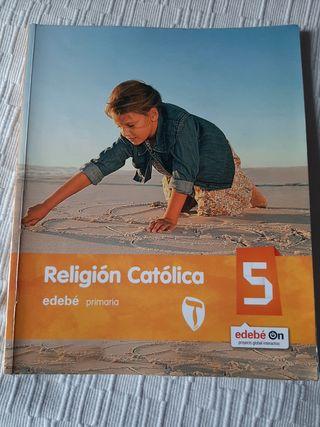 Libro religión Edebé 5°primaria