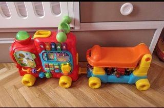 juguete maxitren vtech 5 en 1 correoasillos