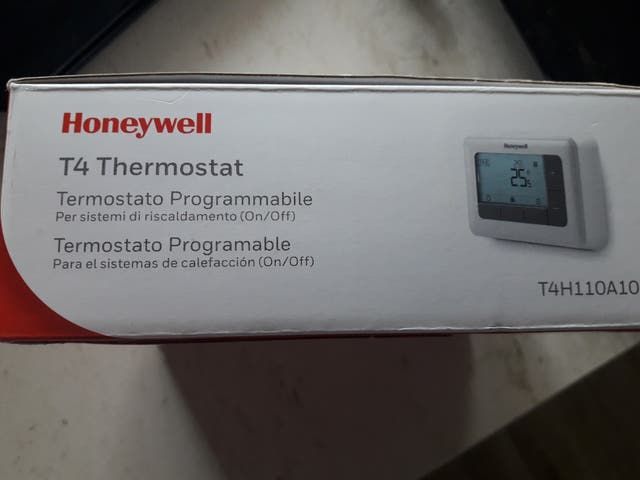 Termostato programable Honeywell