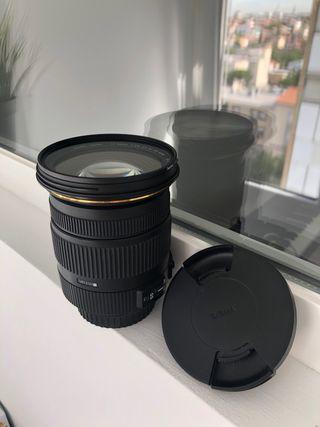 Objetivo SIGMA 17-50mm f/2.8 para Canon