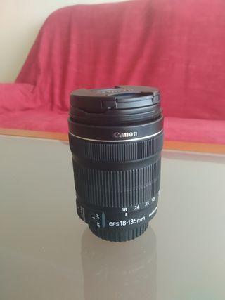 Objetivo Canon 18-135mm