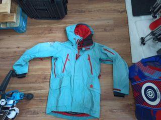 chaqueta esquí montaña goretex talla M