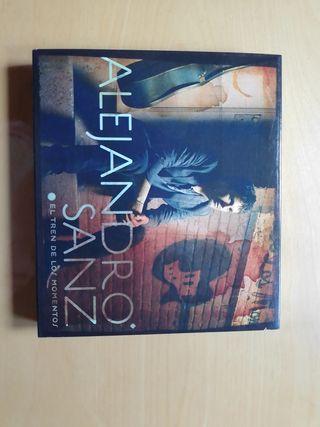 Se vende CD de Alejandro Sanz, El tren de los mome