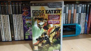 Gods Eater Burst PSP