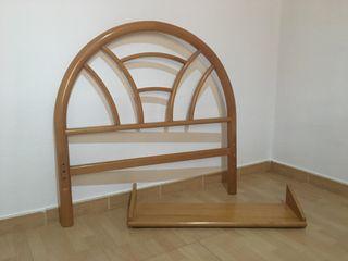 Cabecero cama 90cm + Estante