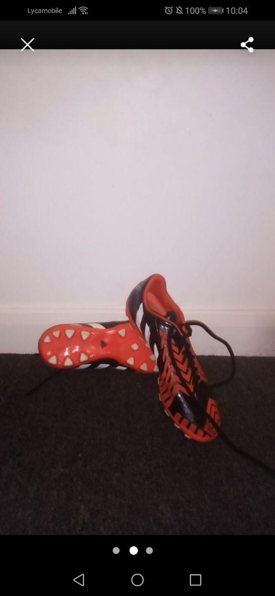 Adidas football boots size 6.5