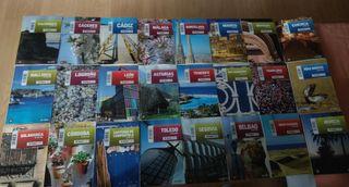 Lote 24 guías de ciudades de España. El Pais