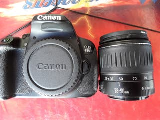 Canon 650D, kit completo