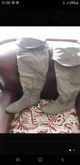 botas rodilleras nuevas