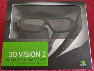 Gafas 3D VISION 2 NVIDIA inalámbricas
